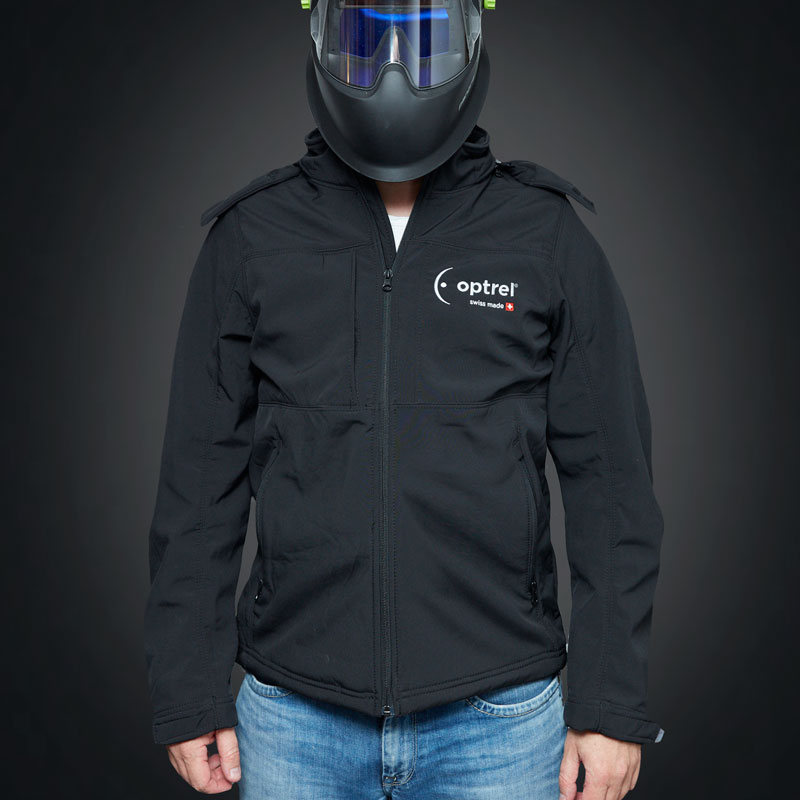 Softshell jacket with optrel e